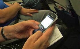 Запрет на использование мобильных телефонов в самолетах может быть снят в ближайшее время