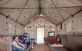 IKEA разработала жилища для лагерей беженцев