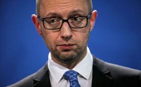Депутаты заблокировали трибуну Рады с требованием расследовать злоупотребления Яценюка