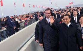 Китай вкладывает в инфраструктуру ЕС
