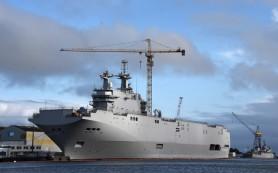 Вертолетоносец «Севастополь» типа «Мистраль» вышел на испытания