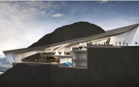 В Италии открывается музей с панорамным видом на Доломиты