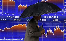 Япония снова ушла в минус