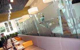 Оформление витрин в торговых залах