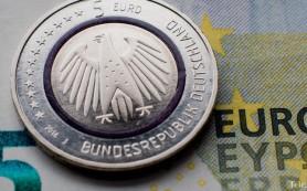 В Германии появились монеты номиналом 5 евро