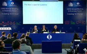 Минфин направит в ЕБРР материалы по возобновлению финансирования российских проектов