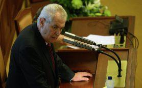 Президент Чехии считает отставку главы Минфина нарушением коалиционного соглашения