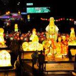 Фестиваль лотосовых фонарей в Сеуле