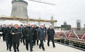 Лукашенко рассказал, когда будет введен в промышленную эксплуатацию второй блок БелАЭС