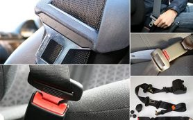 Неправильная работа ремня безопасности автомобиля